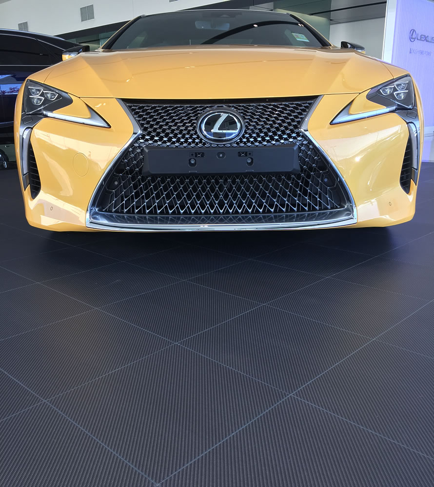 Lexus close carbon
